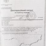 Деклараційний патент - 01